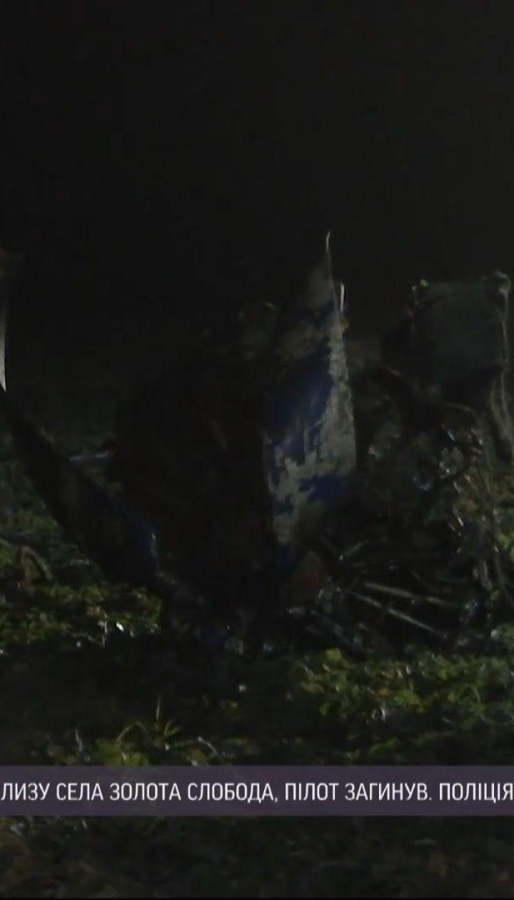 В Тернопольской области произошло крушения - есть погибший