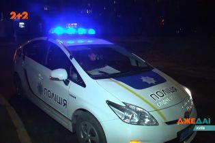 ДТП в Киеве: автомобили раскрутило в разные стороны