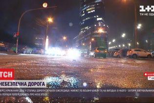 Крижаний дощ: яка ситуація у столиці і чи посипають комунальники дороги