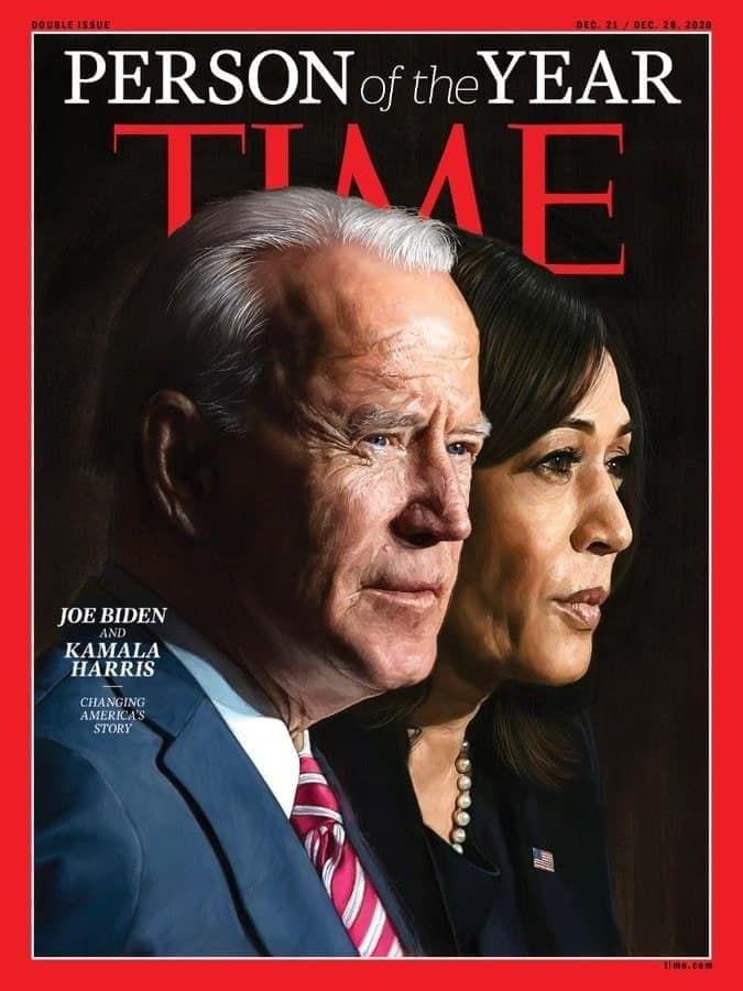 """Time присвоїв звання """"Людина року"""" Джо Байдену і Камалі Харріс"""