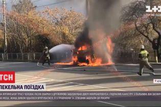 У Криму чоловік після сварки з дружиною підпалив авто, у якому вони перебували