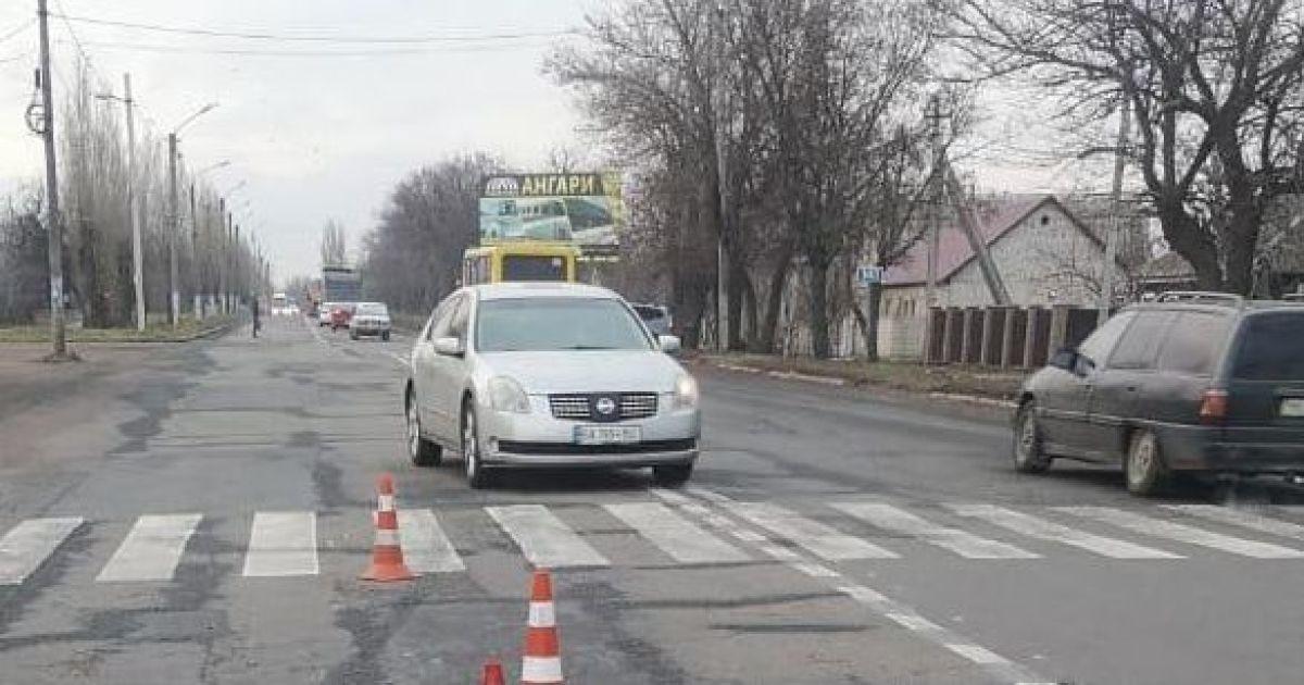 Под Николаевом прямо на пешеходном переходе сбили двух женщин: фото