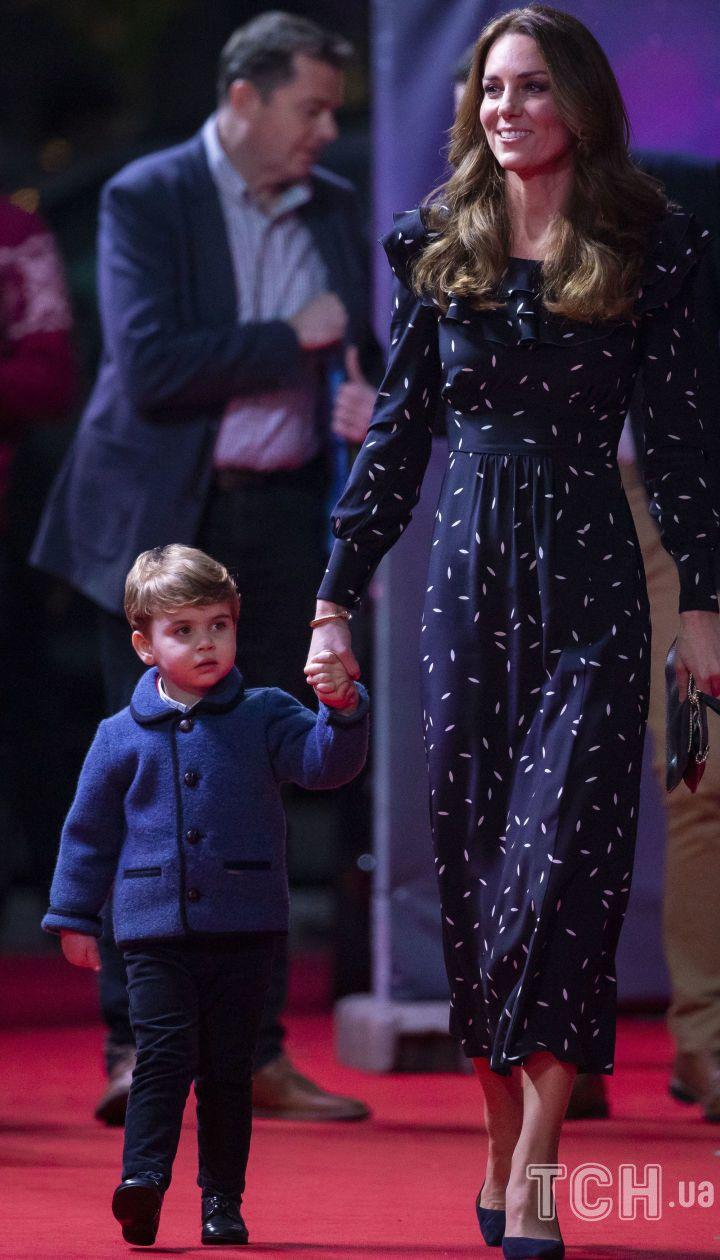 Герцогиня Кетрін і принц Луї