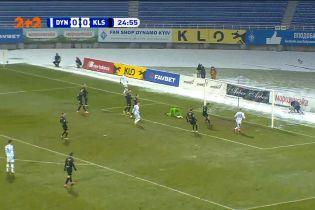 Динамо - Колос - 0:0. Владислав Супряга не забив у порожні ворота
