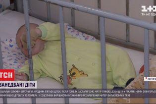 В Житомире социальные службы застали многодетную мать пьяной и отобрали у нее пятерых детей