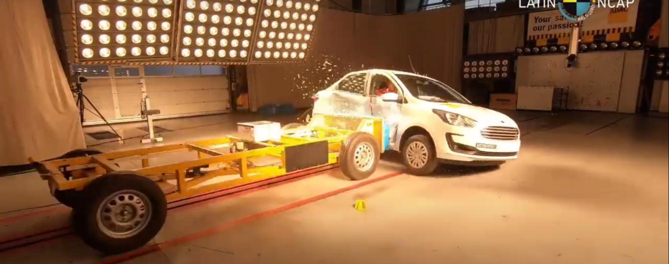 Експерти назвали найнебезпечніший автомобіль за підсумками краштестів