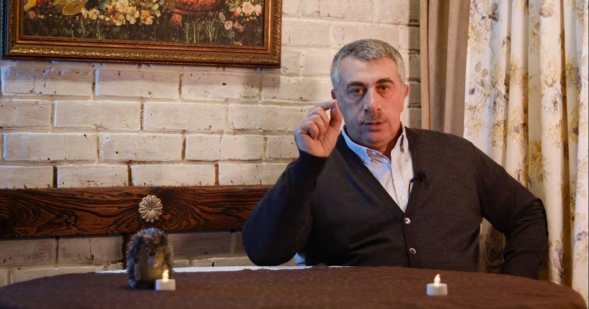 Доктор Комаровский рассказал, как не перепутать коронавирус с ОРВИ
