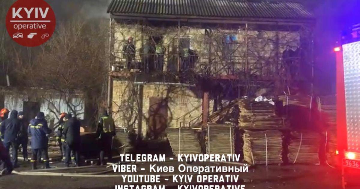 В Киеве загорелся дом, два человека погибли - СМИ