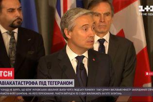 МЗС Канади висловився з приводу причин авіакатастрофи українського літака в Ірані