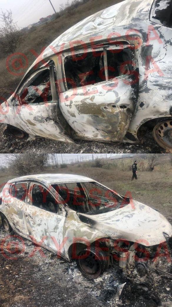 спалили таксі