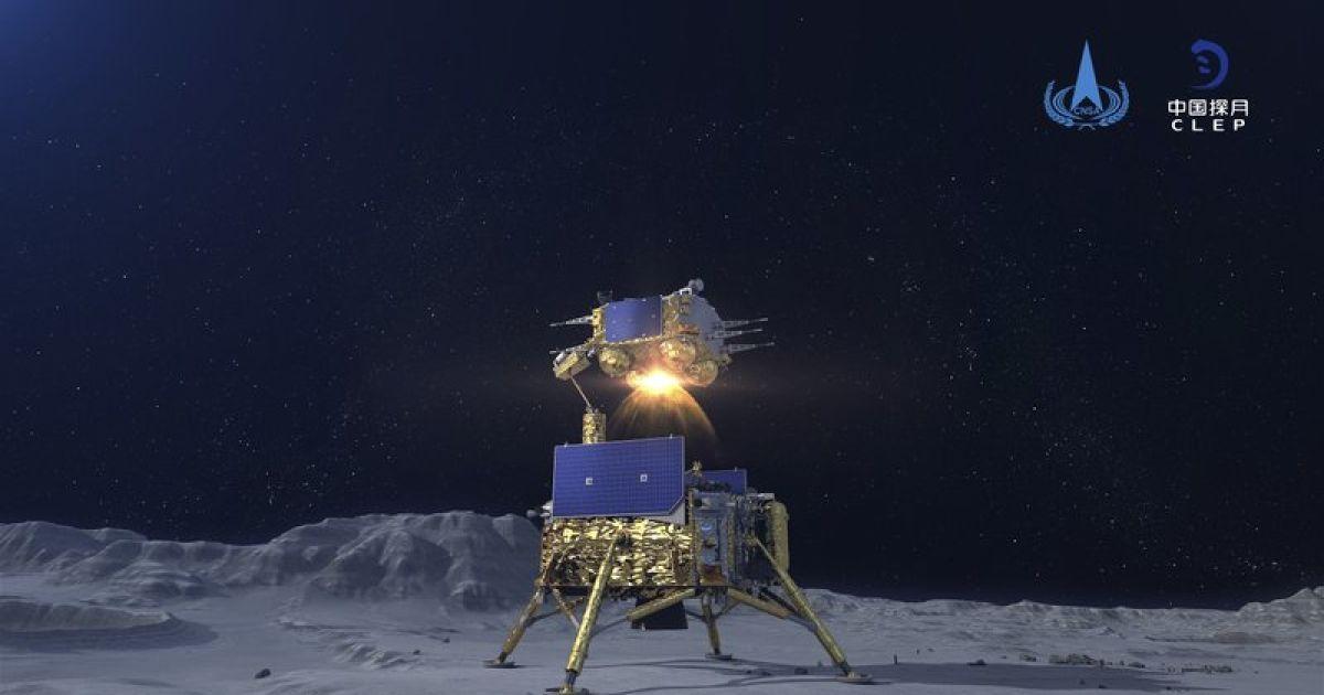 У Китаї готуються до повернення на Землю місячного зонда