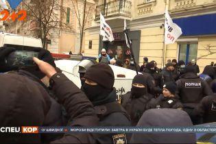 ФОПівський протест у центрі Києва: на Майдані Незалежності вже другу добу мітингують підприємці