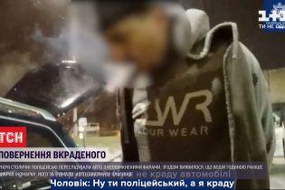 """Переслідування, аварія і арешт: столичні поліцейські вночі затримали """"на гарячому"""" крадія авто"""