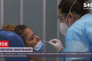 Центр общественного здоровья: более 2 тысяч украинцев во второй раз заболели коронавирусом