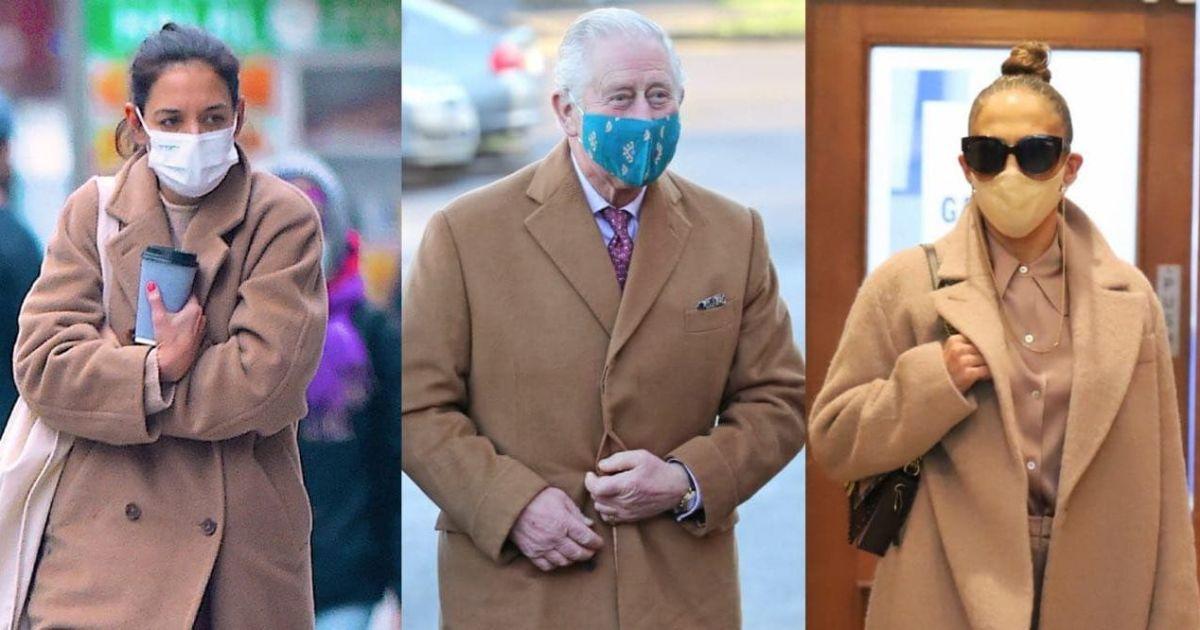 У пальтах кольору кемел: Лопес, Голмс і принц Чарльз задають тренд
