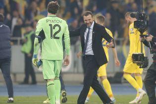 Шевченко озвучил цели сборной Украины на Евро-2020