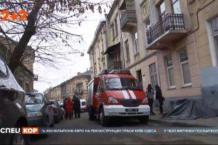 В центре Львова произошел взрыв: два человека госпитализированы