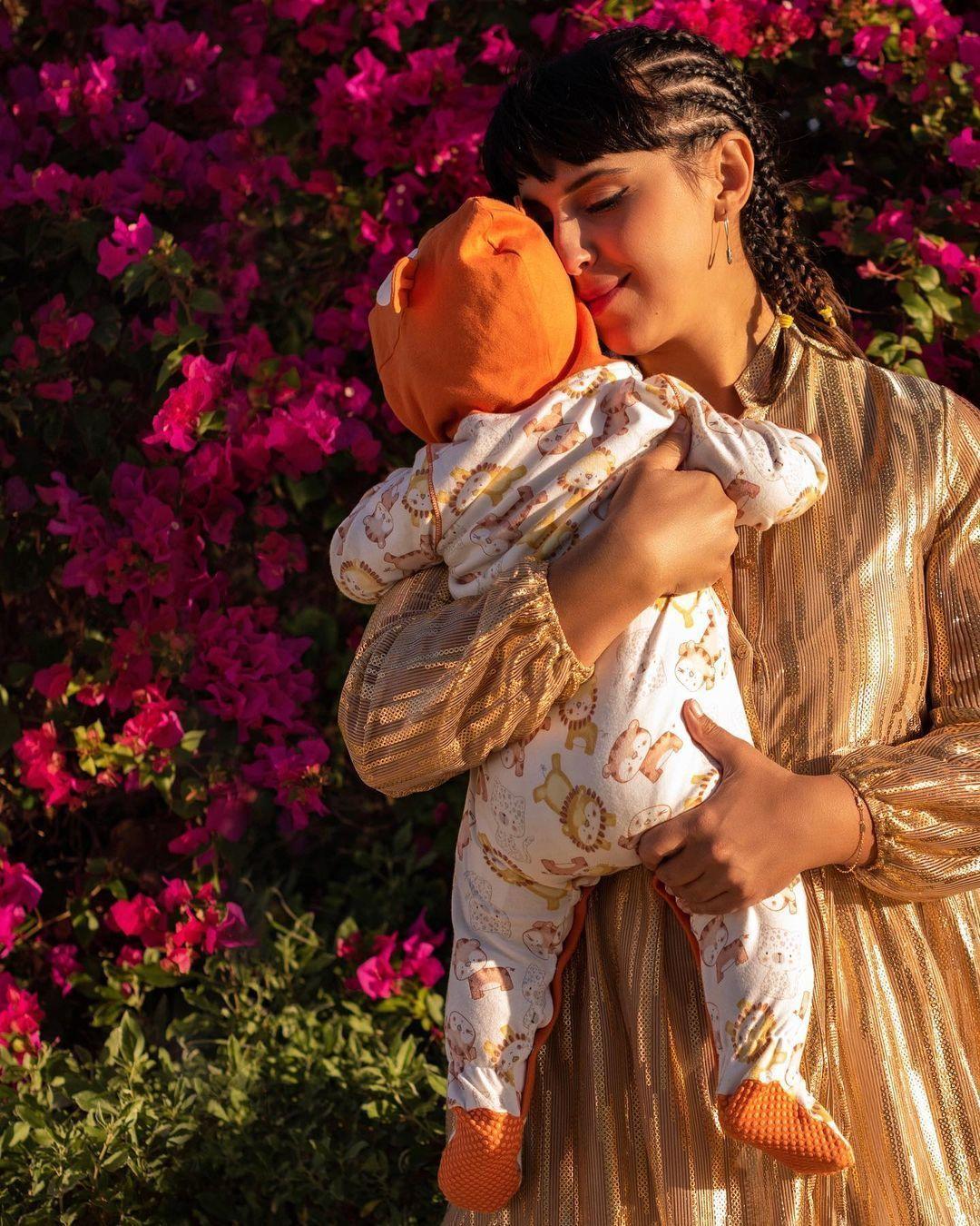 Джамала з сином