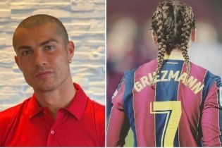 Найепатажніші зачіски футболістів 2020: від лисого Роналду до косичок Грізманна