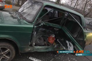 Серьезная авария в Киеве: есть пострадавшие