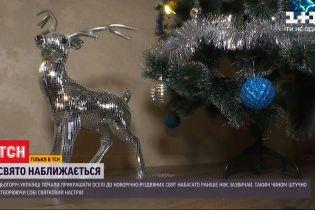 Боремося зі стресом та страхами: цьогоріч українці раніше ніж зазвичай прикрашають свої оселі