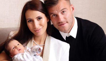 """""""Наш новенький"""": жена звезды украинского футбола показала милое фото с маленьким сынишкой"""