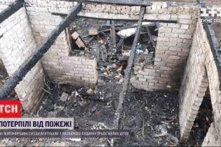В Житомирской области из пожара спасли маленьких детей и немощную прабабушку