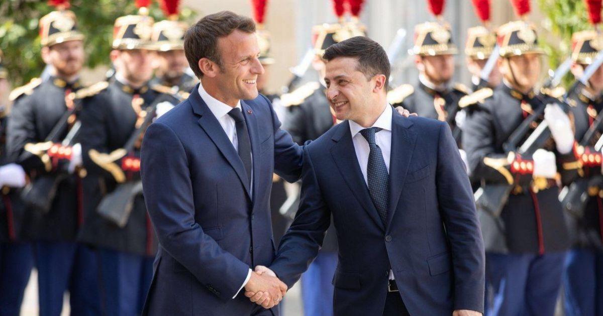 Зеленский 16 апреля встретится с Макроном в Париже
