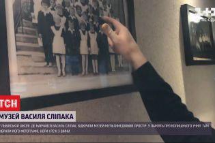 У школі, де вчився оперний співак і доброволець АТО Василь Сліпак, відкрили музей