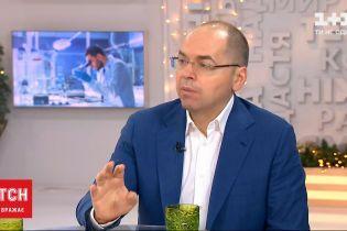 Степанов заявив, що першу партію вакцини Україна може отримати вже у лютому
