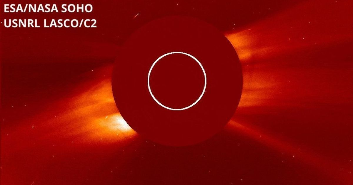 Обсерваторія NASA зазнімкувала нещодавно виявлену навколосонячну комету