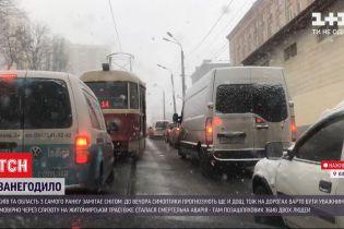 Дороги замітає снігом: на Житомирській трасі позашляховик збив двох людей