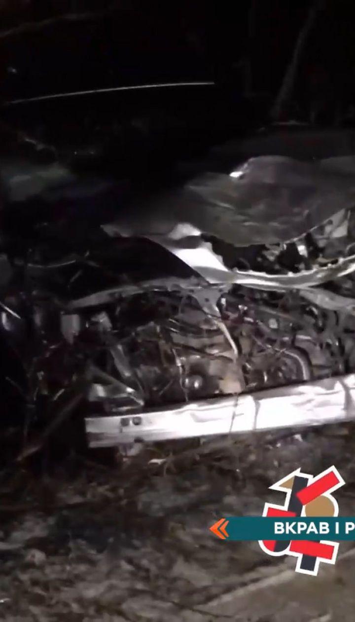 У Харкові чоловік викрав авто блогерки та потрапив на ньому в аварію