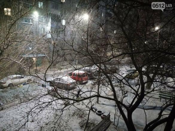 сніг у Миколаєві