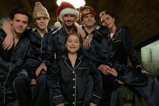 Різдво 25 грудня: Бекхеми, Діон, Бібери та інші зірки привітали зі святом родинними фото