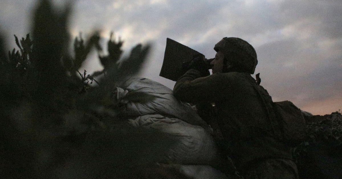 На Донбассе подорвался украинский военный