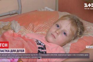 Поранив свою та сусідську дитину: дві 6-річні дівчинки потрапили під постріл саморобного пристрою