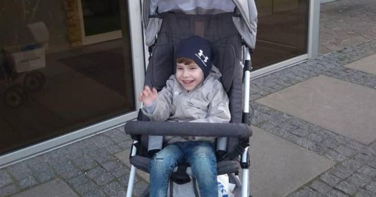 3-річний Максимко потребує вашої допомоги