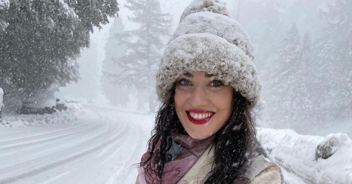 Соломія Вітвіцька застрягла в снігах Каліфорнії