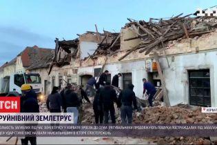 Землетрус у Хорватії: українців серед потерпілих немає, під завалами досі шукають поранених