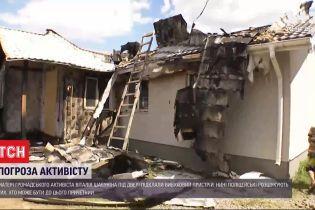Угрозы Шабунину: неизвестные подложили взрывчатку под дверь матери общественного активиста