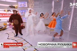 Битва зарядок: новорічна руханка від фітнес-тренерки Ксенії Литвинової