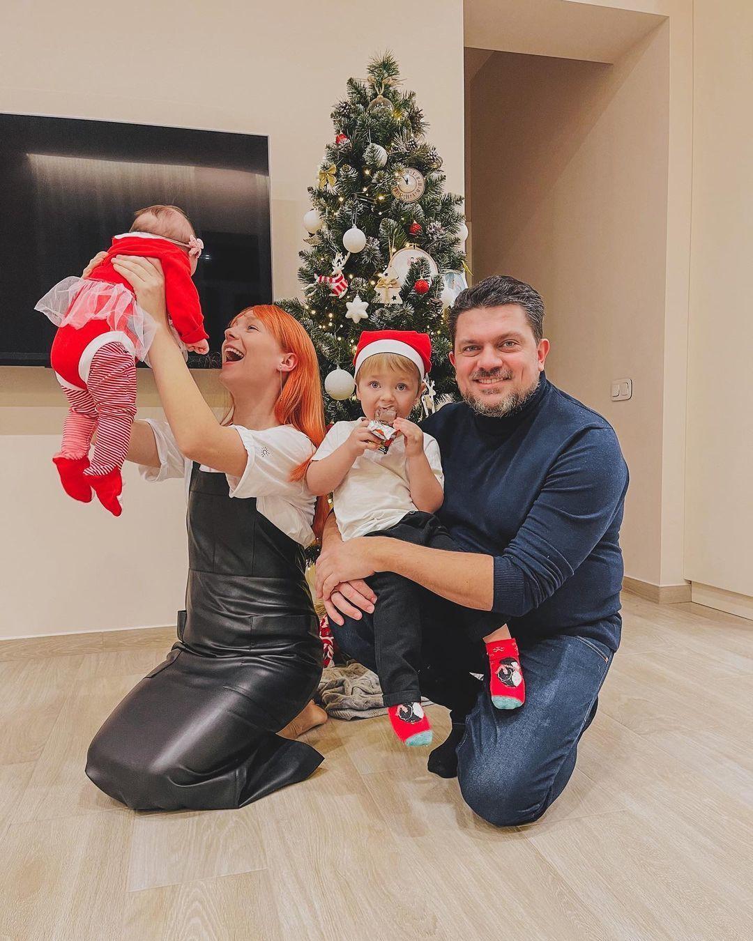 Світлана Тарабарова з родиною