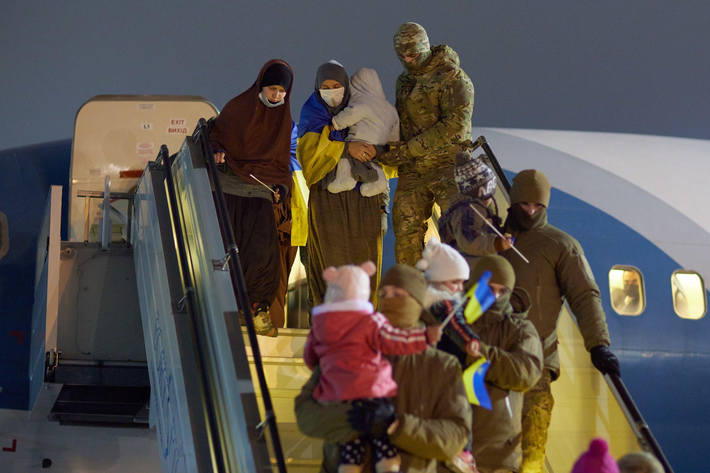 повернення українців із Сирії