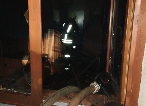Пожежа в мотелі на Закарпатті