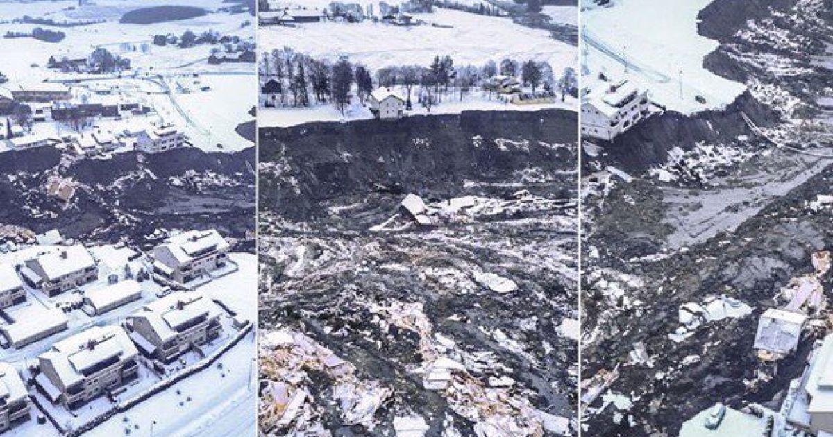 У Норвегії після масштабного обвалу знайшли тіла двох людей: доля ще восьми залишається невідомою