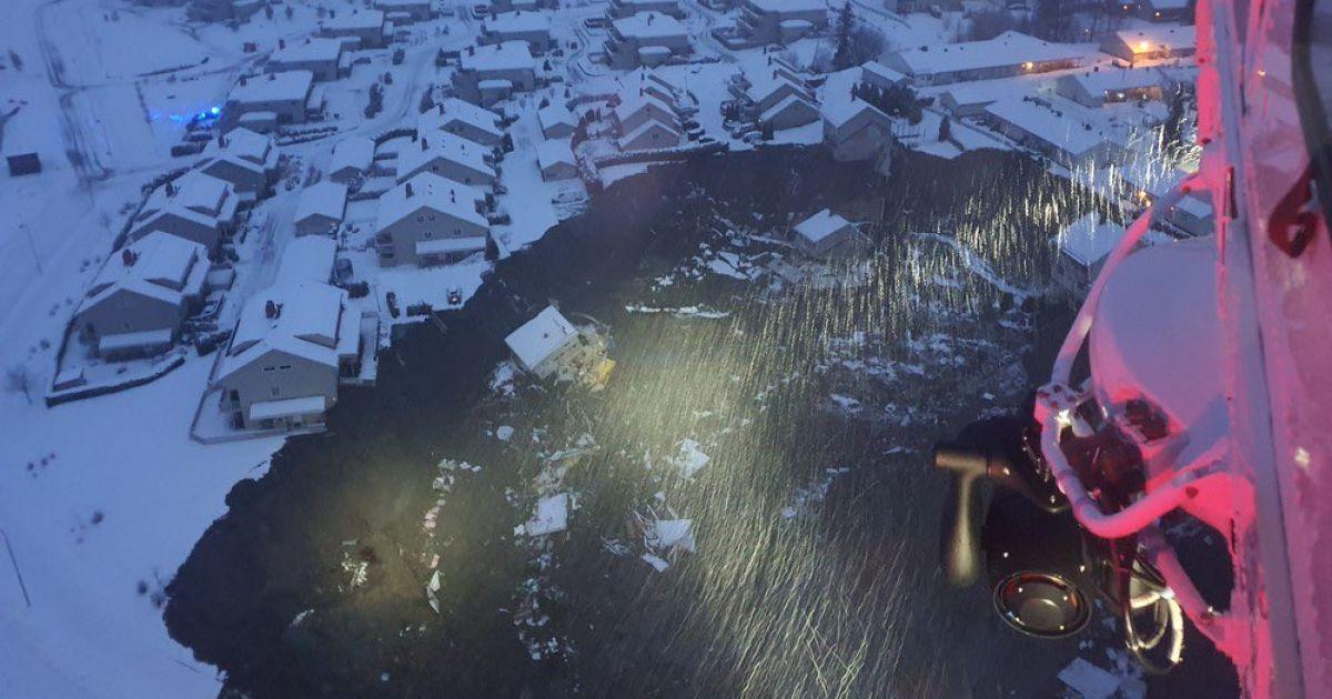Масштабный обвал в Норвегии: спасатели нашли тело еще одного погибшего