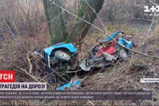 В Житомирской области и на Прикарпатье произошли ДТП, среди жертв - 13-летняя девочка