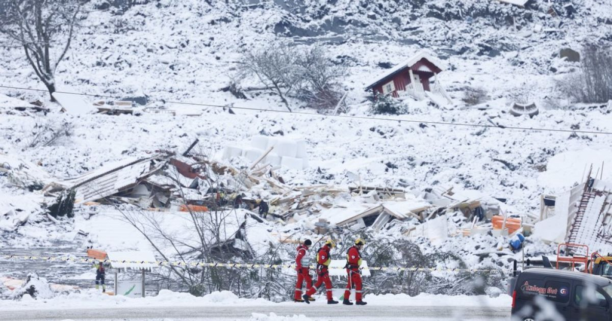 Масштабний обвал у Норвегії: рятувальники виявили тіло шостого загиблого