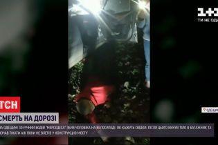 В Одесской области водитель сбил насмерть велосипедиста и скрылся с места происшествия